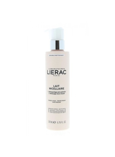 Lierac LIERAC Micellar Milk Double Cleanser 200 ml Renksiz
